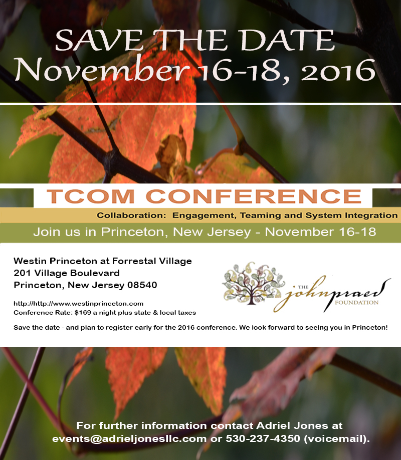Save the Date Praed 2016